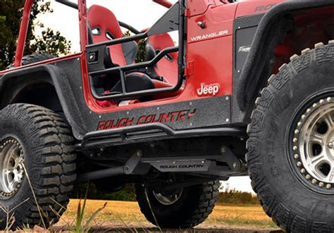 Jeep Wrangler Rock Sliders Country Jeep Wrangler Rock Sliders Autotrucktoys