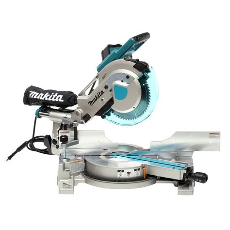 makita 10 inch dual sliding compound miter saw with laser