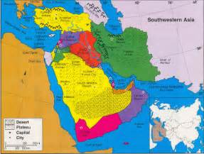 Southwestern Asia Map by Southwestern Asia Map