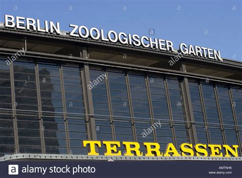 Zoologischer Garten Berlin Germany by Bahnhof Zoo Station Berlin Germany Stock Photos Bahnhof