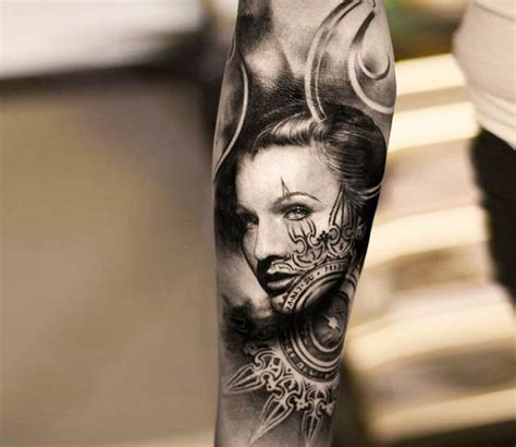 tattoos of women s faces 1000 ideas about forearm on