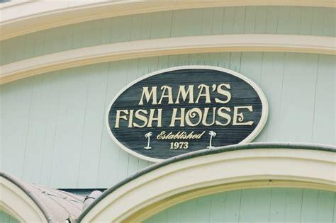 mamas fish house lunch menu mama s fish house
