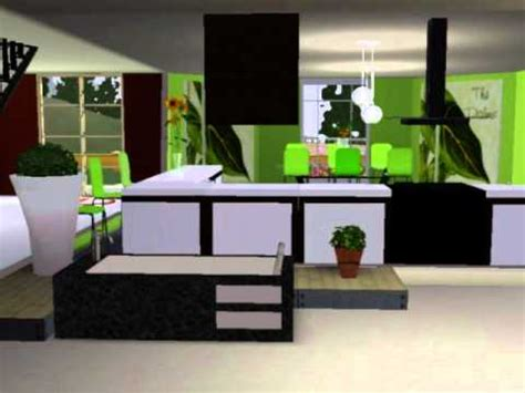 sims 3 house interior design sims 3 modern house interior design ideas youtube