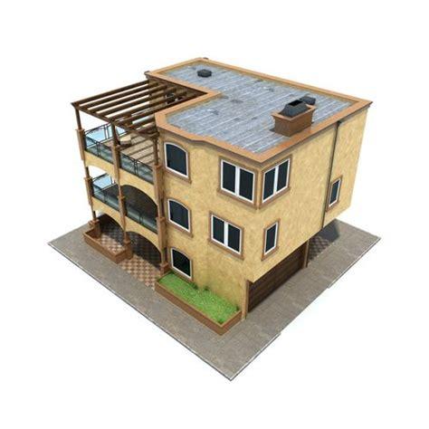 family house san francisco family house san francisco brown 3d model max obj 3ds fbx mtl cgtrader com