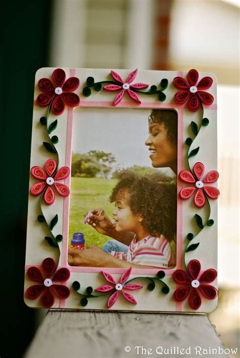 Handmade Quilling Frames - handmade photo frames with quilling www imgkid the