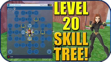 disney infinity black widow level skill tree