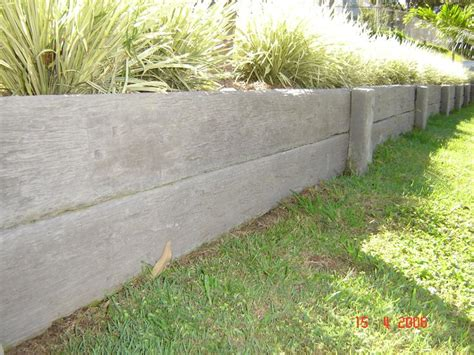 Retaining Walls Sleepers by Concrete Sleepers Retaining Walls Inspiration Home