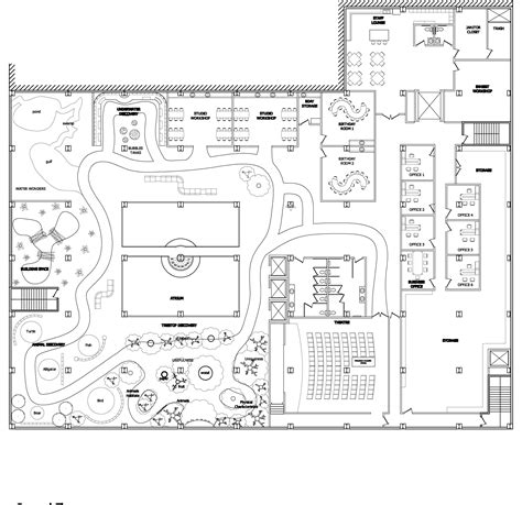 floor plan of a museum floor plans acouls1