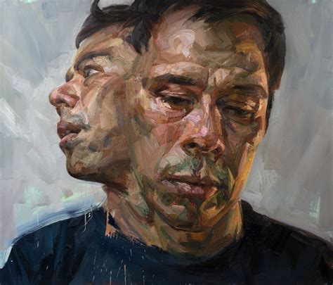 portrait in shan schierenberg selfportrait as janus