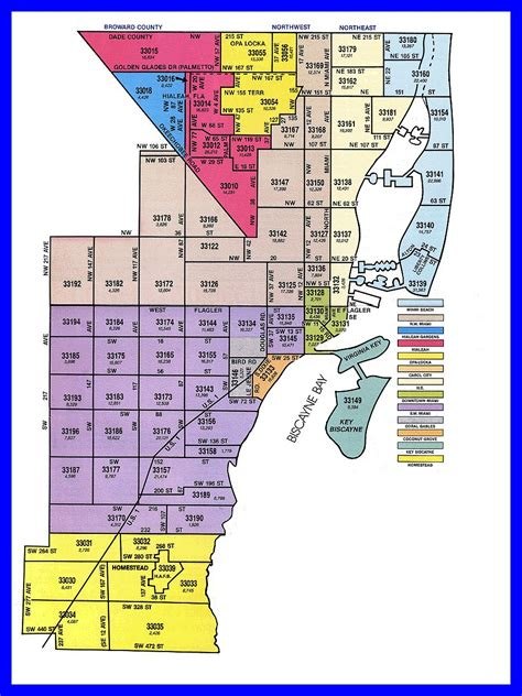 Miami Dade Address Search Miami Zip Code Map My