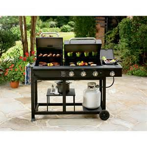 Backyard Grill Gas Charcoal Combination Grill Nexgrill Charcoal And Gas Grill Combo Shop Your Way Shopping Earn Points On Tools