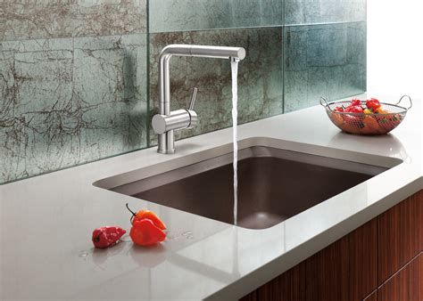 Designer Kitchen Faucets by The New Blanco Silgranit 174 Ii Vision Designer Kitchen Sink