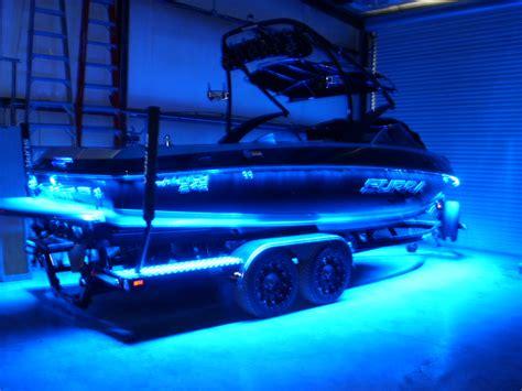 led boat rail lights custom lighting stereo premier watersports