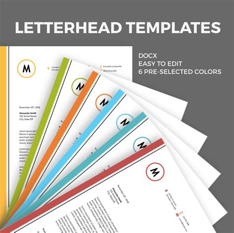free letterhead sle templates download invoice for