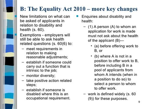 equality act 2010 section 6 equality act 2010 presentation