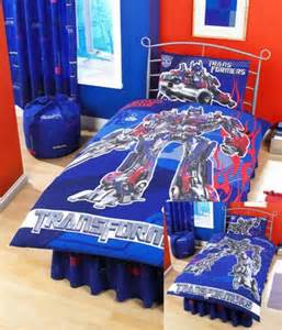 Theme transformers bedding and bedroom decor for boy s bedroom