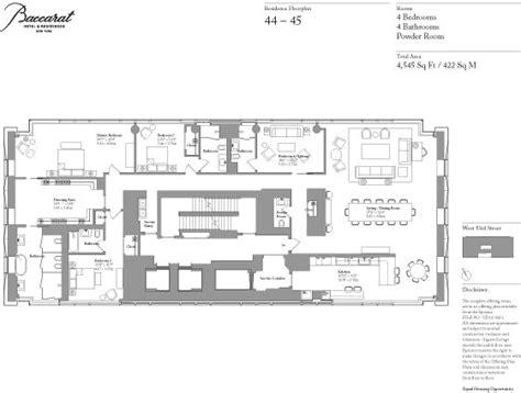 1 world penang floor plan baccarat hotel and residences floor plan apartment 44