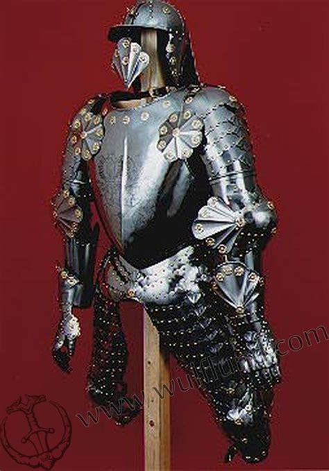 Handmade Armor - renaissance suit of armour etched armour custom made