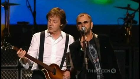 Paul Mccartney Stepping Out With A New Friend by Paul Mccartney Ringo With A Help From My