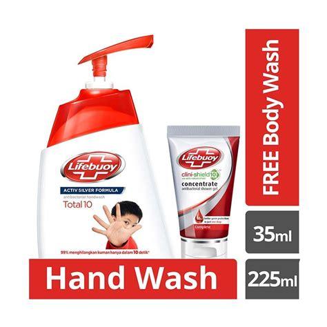 Sabun Total jual lifebuoy total 10 sabun cuci tangan 225 ml