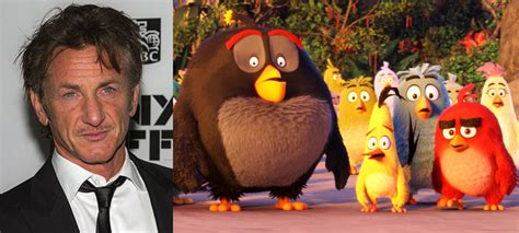 sean penn voice in angry birds sean penn will lend his voice to the angry birds movie