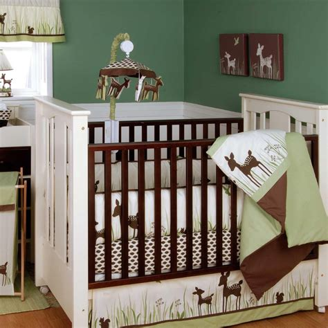 Brown And White Crib Bedding Interior Black And White Fabric Black Crib Bedding With Blue Ribbon On Black Wooden Crib