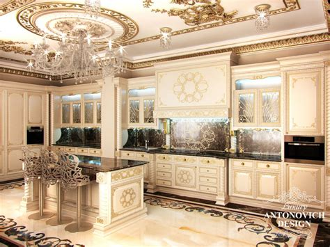 Design Interior Kitchen Professional Kitchen Cabinet Design In Qatar By Antonovich Design