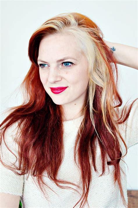 images of ladies blonde streaked hairstyles the 25 best white streak hair ideas on pinterest grey