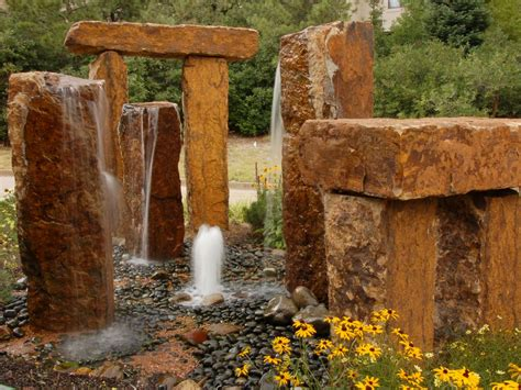 yard features water features for any budget landscaping ideas and