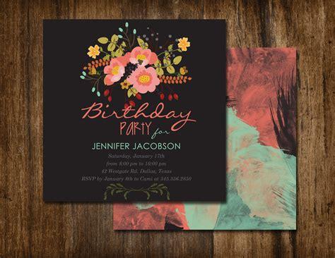 invitation design tutorial vintage floral invitation designjmags graphics