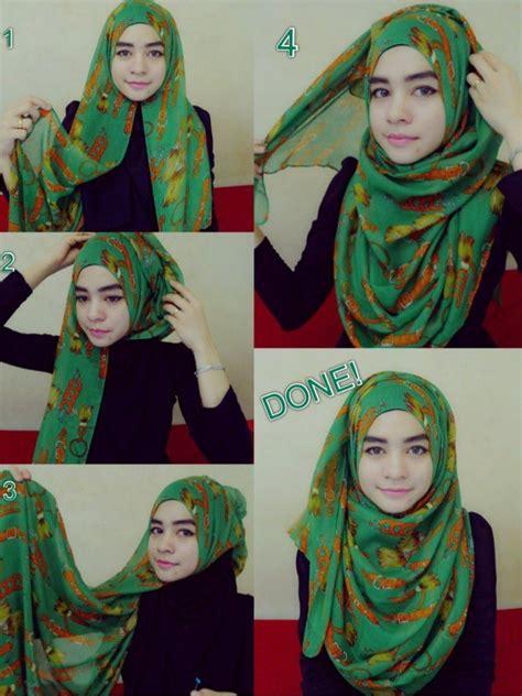 simple  cute hijab tutorials pinterest