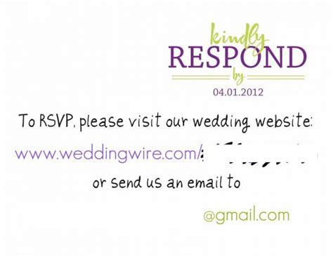 wedding rsvp website rsvp cards weddingbee photo gallery