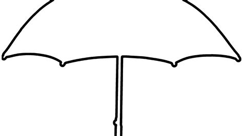 Coloring Page Umbrella by Umbrella Free Colouring Pages