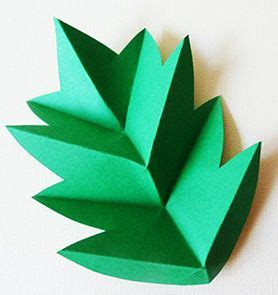 Simple Origami Leaf - 1000 ideas about origami on origami
