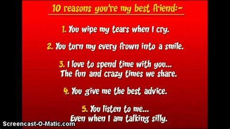 8 Reasons You Need A Best Friend by Top Ten Reasons Why You Are My Best Friend Pictures To Pin