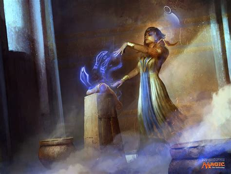 the of magic the gathering amonkhet scribe of the mindful amonkhet mtg magic the