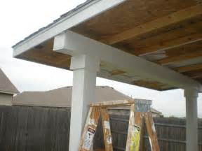 how to build a patio cover pt 2 must see edition