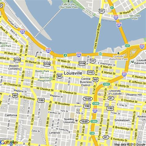 louisville map map of louisville kentucky united states hotels accommodation