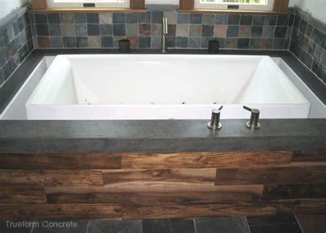 custom bathtub surrounds 17 best images about concrete tub surrounds trueform