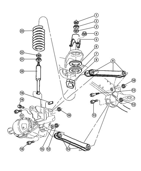 dodge dakota parts diagram 2000 dodge dakota parts diagram wiring diagram with