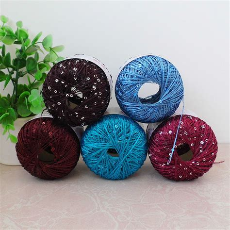 knitting wool with sequins popular sequin knitting yarn buy cheap sequin knitting