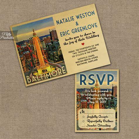 Wedding Invitations Baltimore by Baltimore Wedding Invitations Vtw Nifty Printables