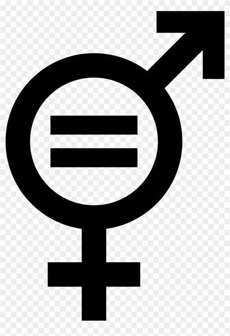 Symbol Gender Equality - Gender Equality Sign, HD Png