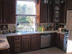 painting kitchen cabinets dark brown