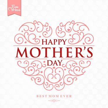 Mothers Day Logo Happy Mothers Day Logo Free Vector 74 556 Free