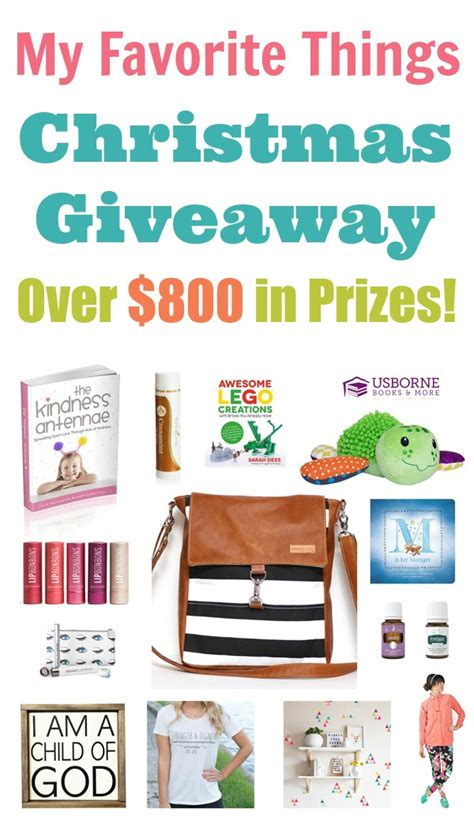 Small Christmas Giveaways - huge favorite things christmas giveaway 800 value happy home fairy