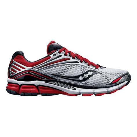 mens saucony triumph 11 running shoe at road runner sports