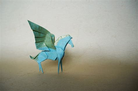 Pegasus Origami - mythology brought to through some