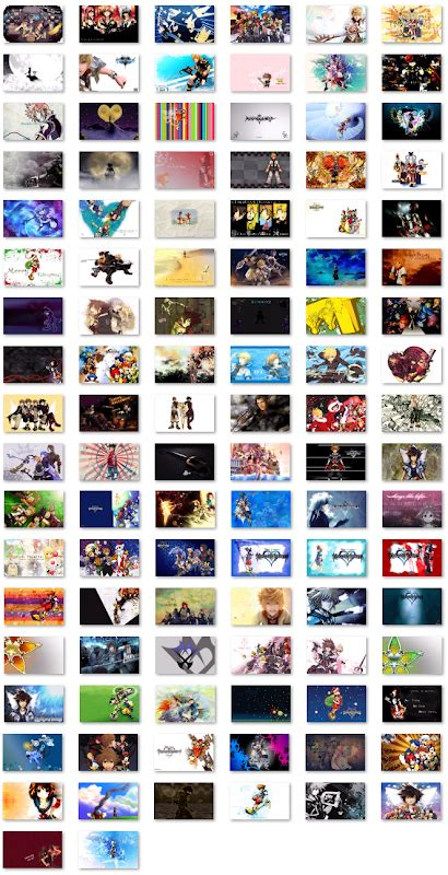 themes kingdom heart themes for windows 7 images
