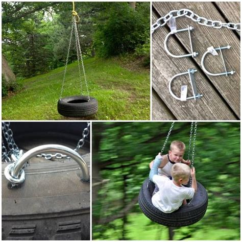 home made tire swing diy old fashioned tire swing house stuff pinterest